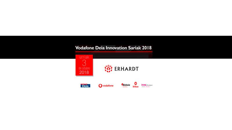 Erhardt recibe el premio innovación empresarial